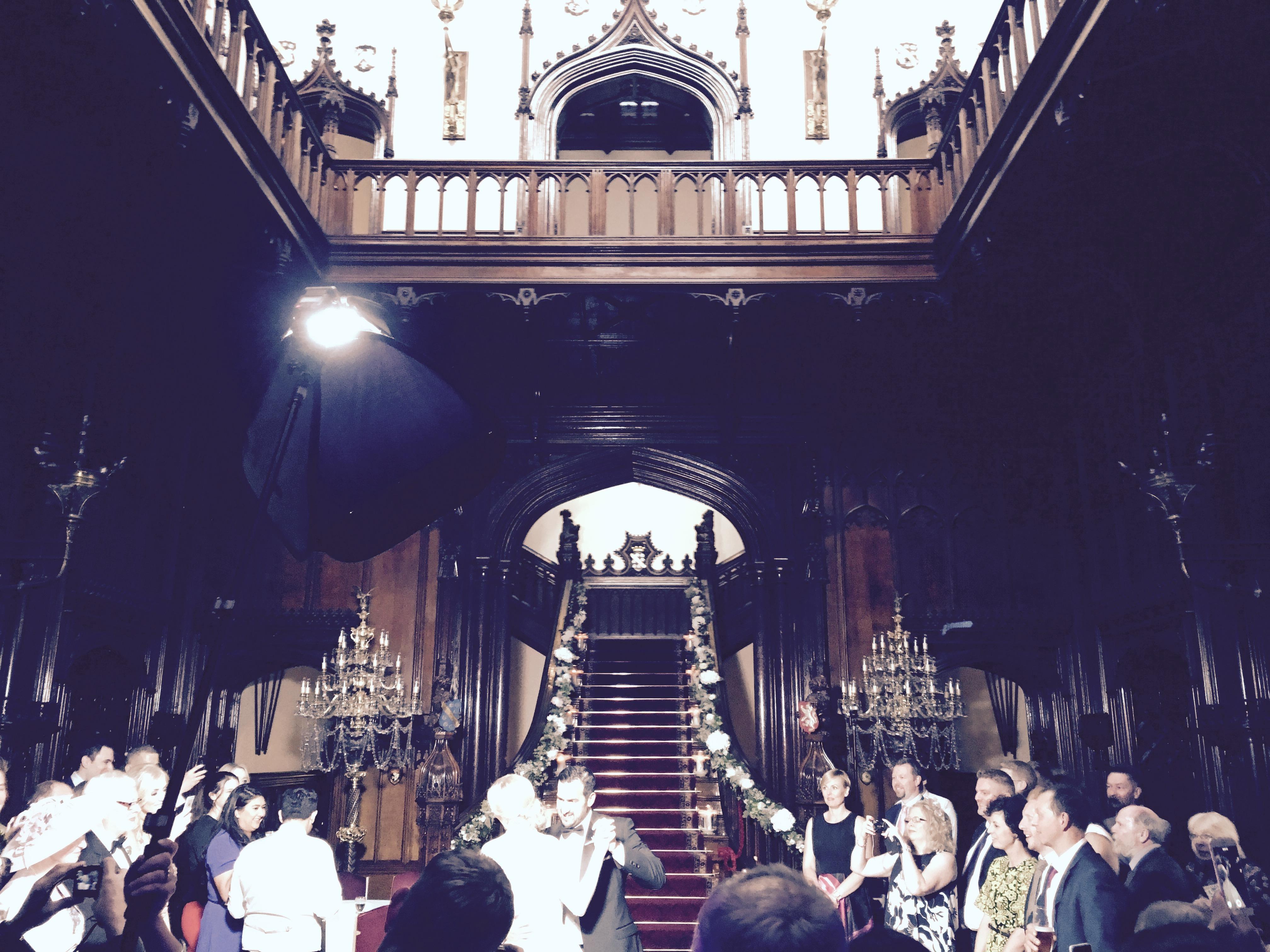 Great Wedding Gig at Allerton Castle