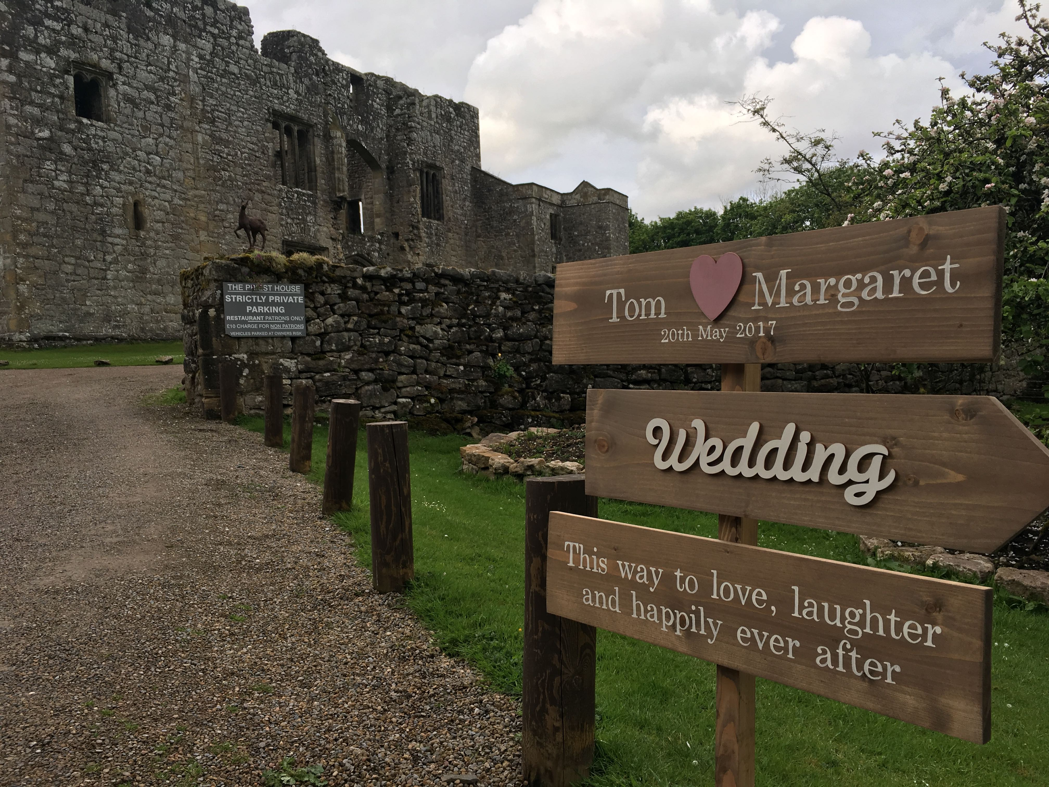 Great Wedding Gig @ The Priests House, Barden Tower