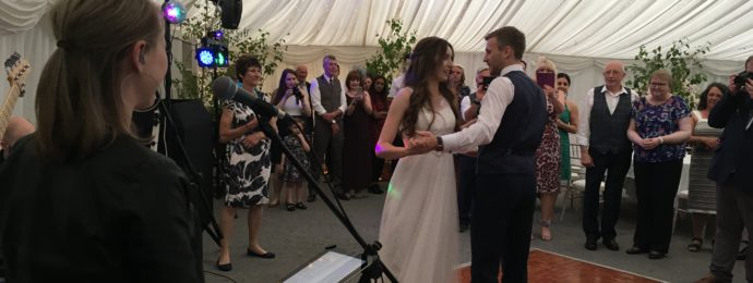 Live Wedding Band at The Woodlands Hotel Leeds